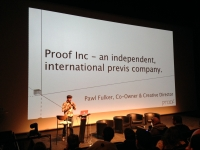Proof London\'s Creative Director Pawl Fulker Presents Previsualization session during 2013 ParisFX Event