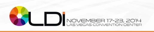 Full Registration Is Now Open! Register For The LDInstitute™ and Backstage Las Vegas!