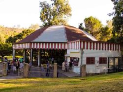 This Old-Timey Merry-Go-Round in Griffith Park Inspired Walt Disney to Create Disneyland