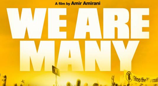 CELEBRITIES ATTEND SCREENING OF ANTI-WAR DOCUMENTARY &quot;WE ARE MANY&quot; <br />