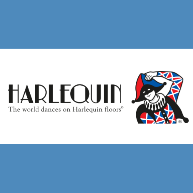 Harlequin:  The world dances on Harlequin Floors
