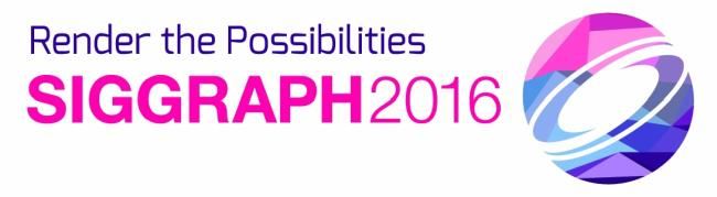 SPECIAL FEATURES AT SIGGRAPH 2016 IN ANAHEIM