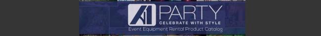 A1 Party Rentals New Products For 2017!