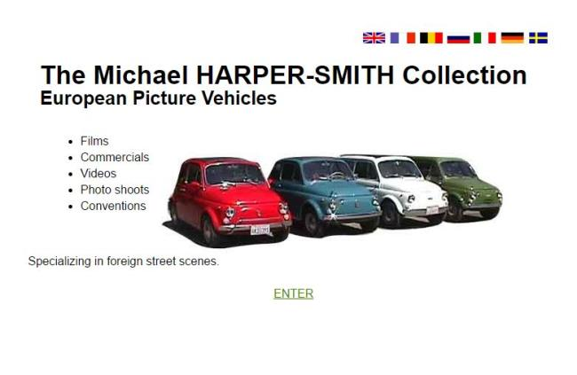 The Michael HARPER-SMITH Collection European Picture Vehicles