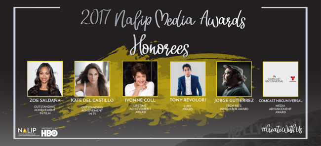 Take a look at the full list of awardees for the June 22 - 25, 2017 NALIP Media Summit!