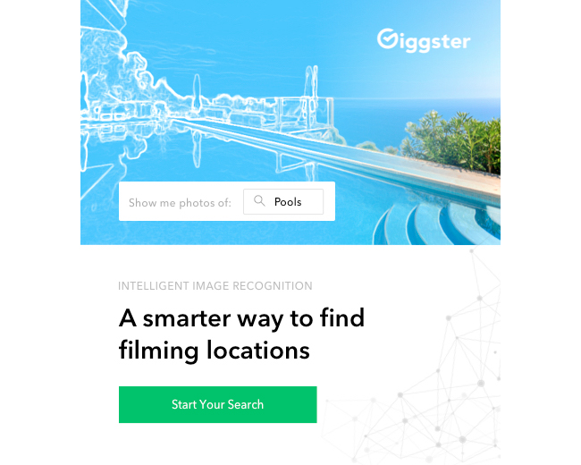 INDUSTRY FIRST - Giggster Launches AI-based Image Recognition for Filming Locations Search