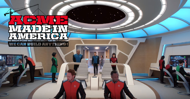 Acme Made in America creates custom set pieces for new show The Orville
