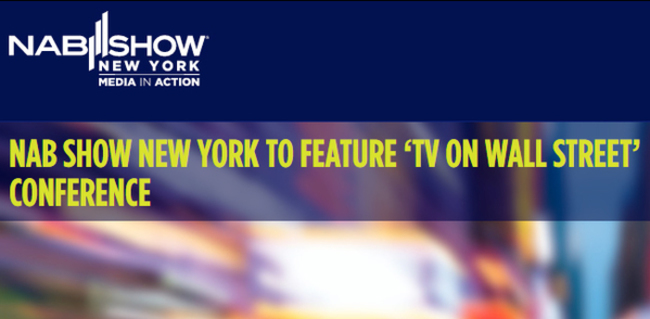 FOX Television Stations VP & CFO Featured in NAB NY Keynote