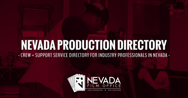Neveda Film Office 2018 Production Directory Registration Now Open!