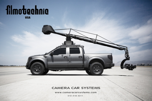 Camera Car Systems\' New 2012 Ford Raptor SVT 4X4 Camera Truck!