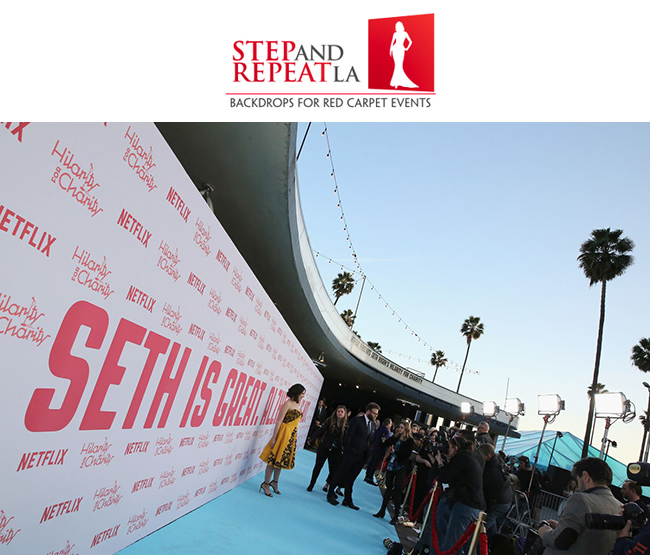 Step and Repeat LA @ Seth Rogen\'s Annual Hilarity for Charity Gala