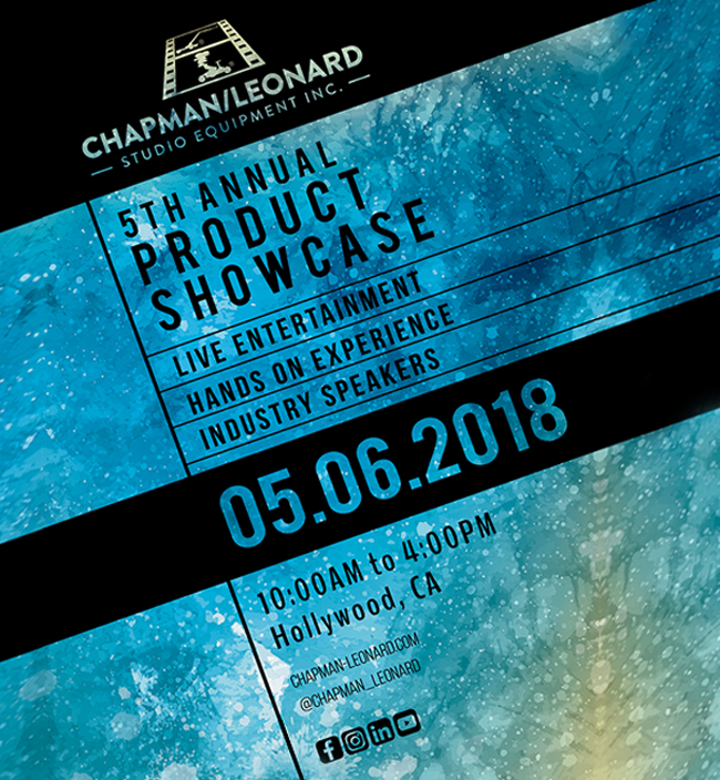 5TH ANNUAL CHAPMAN/LEONARD PRODUCT SHOWCASE 2018