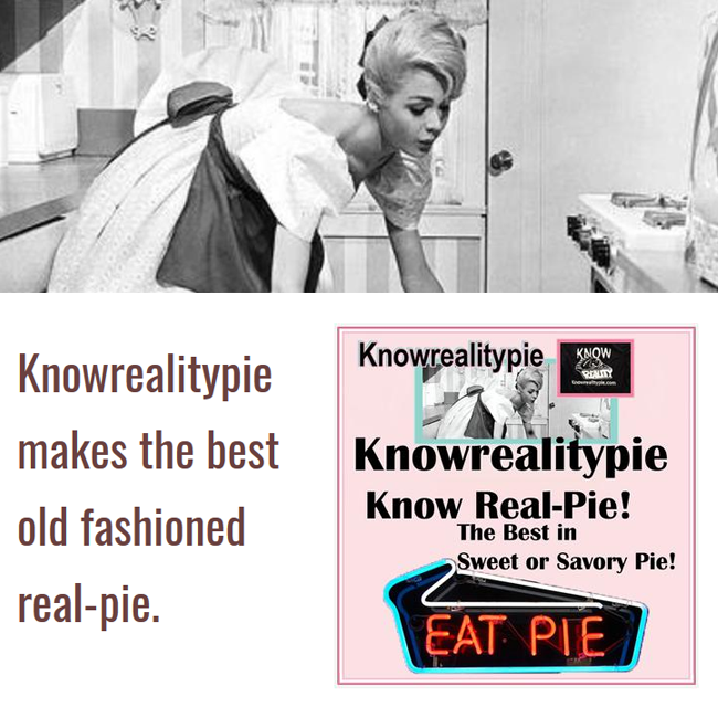 Award winning Know Reality Pie for your Production!
