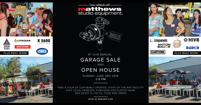 Save the date: Power Gems at Matthews Garage Sale