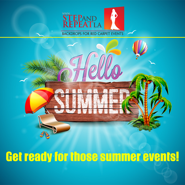 Hello Summer with Step and Repeat LA!