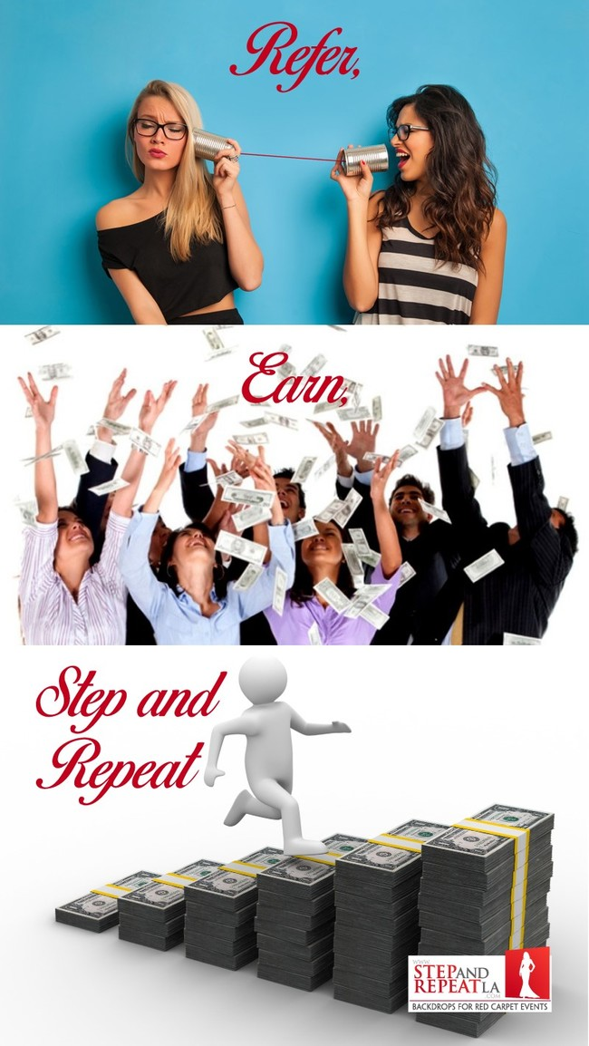 Get Rewarded with a Referral at Step and Repeat LA!