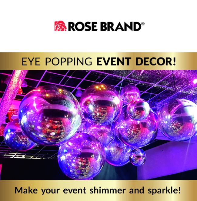 Rose Brand\'s Dazzling Event Decor!