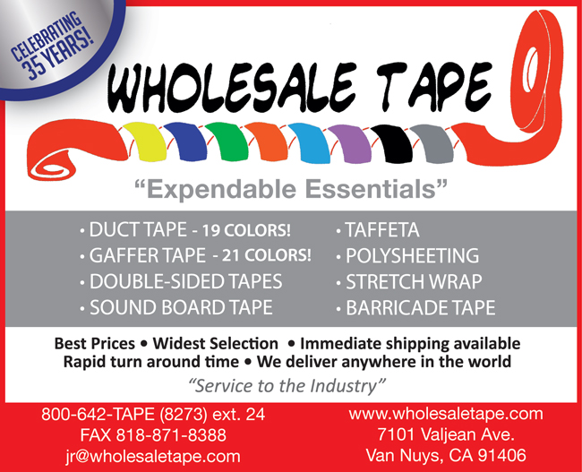 WHOLESALE TAPE & SUPPLY: CELEBTRATING 35 YEARS
