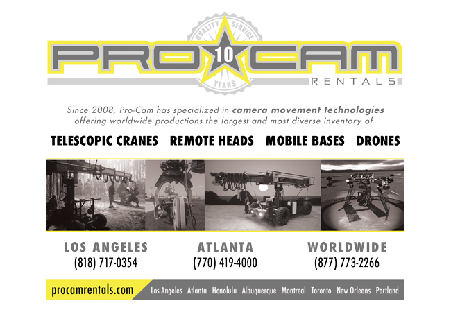 PRO-CAM: Over 10 Years of Quality Service