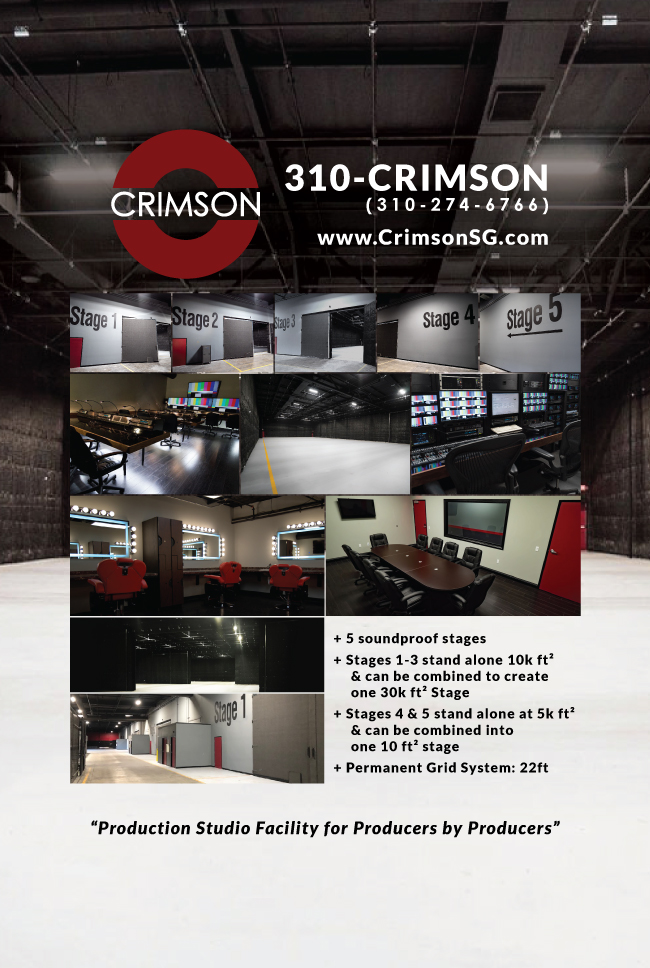 New Production Facility In Town: Crimson Studios