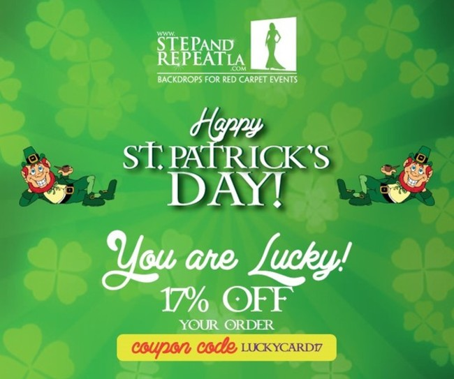 Get Lucky with our St. Patrick\'s Day Sale!