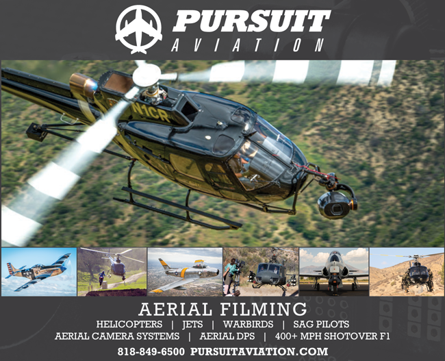 Pursuit Aviation: Aerial Cinematography