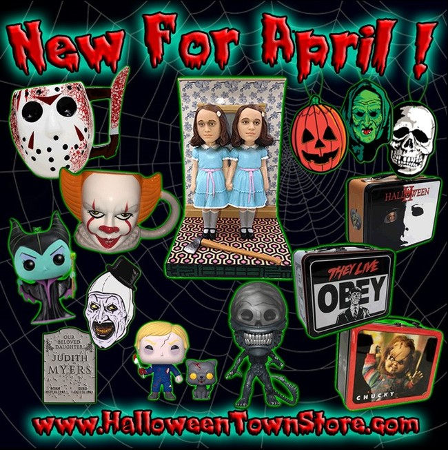 Halloween Town awesome April additions!!