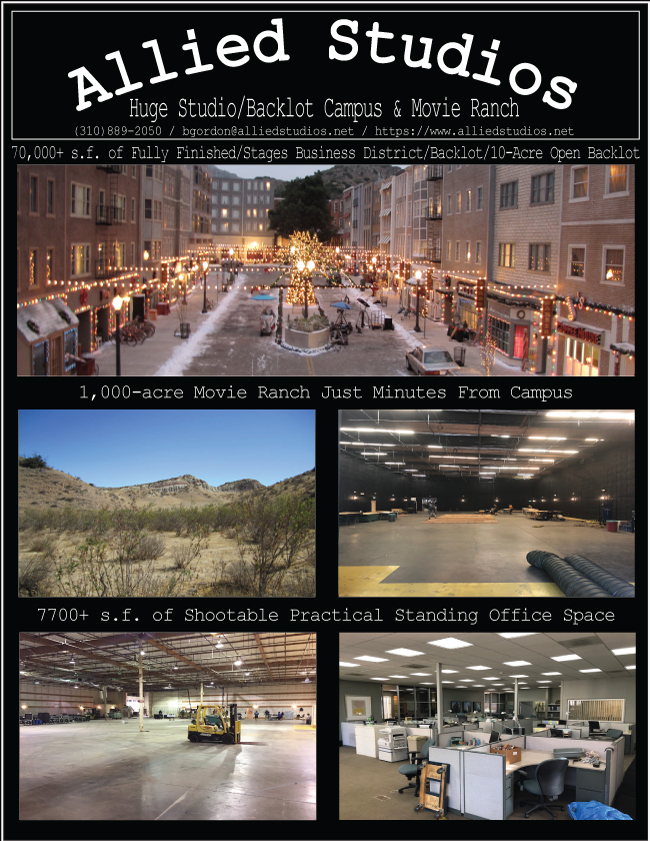 Allied Studios: Huge Studio, Backlot Campus...