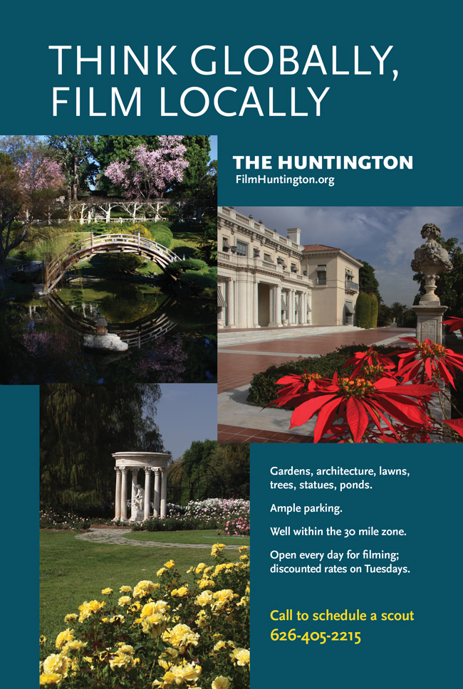 Want a Desktop Wallpaper from The Huntington Gardens?!