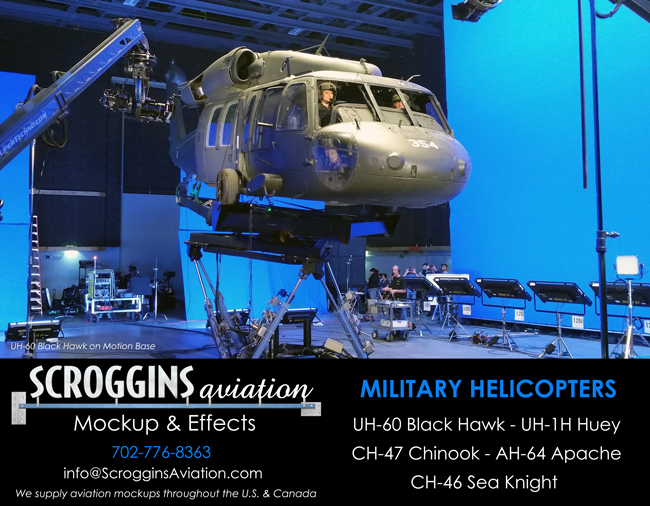 Aim High With Accurate Mockups By Scroggins Aviation