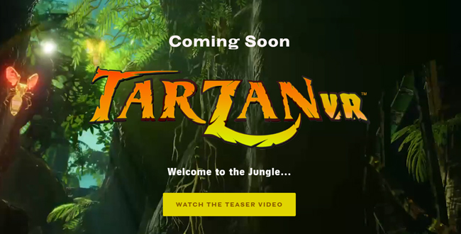 Tarzan VR™ Invites Players to Rumble in the Jungle