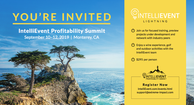 2019 INTELLIEVENT PROFITABILITY SUMMIT