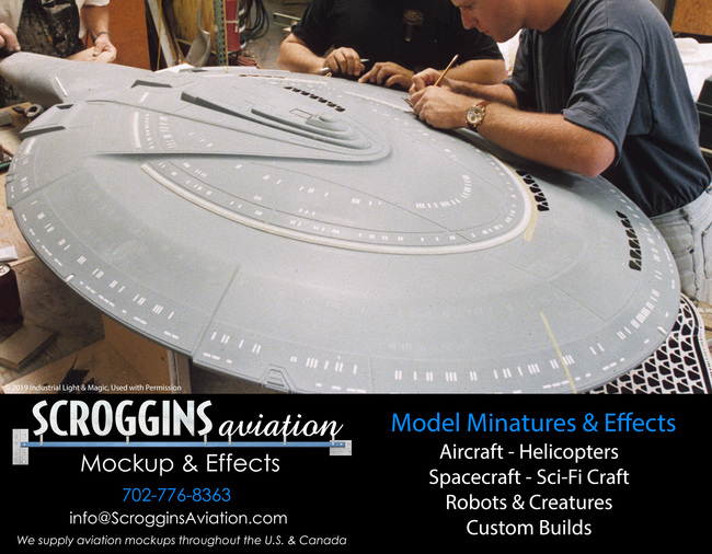 Building Camera-Ready Model Miniatures By Scroggins Aviation