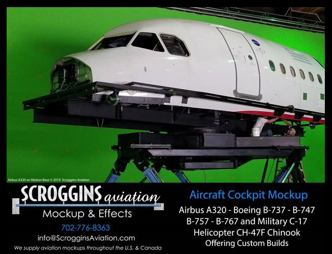 Bringing High-Tech Cockpits to Productions by Scroggins Aviation