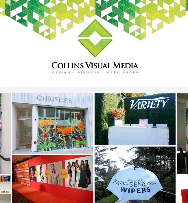 You can rely on Collins Visual Media for solutions and to get the job done.