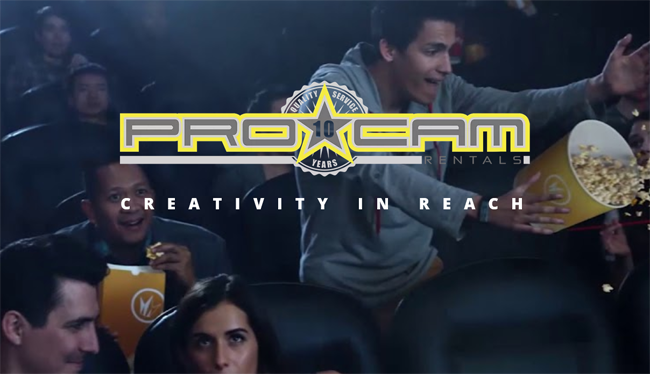 PRO CAM: Creativity in Reach