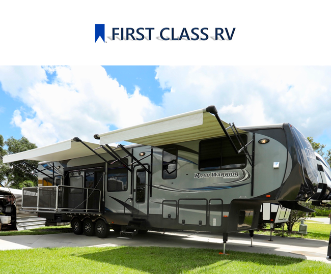 First Class RVs New Production Rentals/Sleepers, Dressing Rooms...