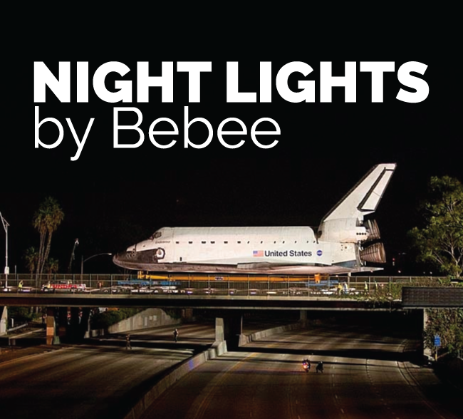 NIGHT LIGHTS by Bebee is the PREFERRED Choice for Production Companies