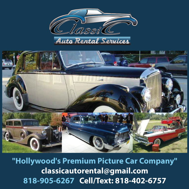 Classic Auto Rental Services Since 1996: Access to Rare & Valuable Vehicles