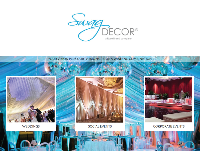 Florida\'s Leader in Event Drape Rentals, Decor Rentals, and Set-Up and Strike