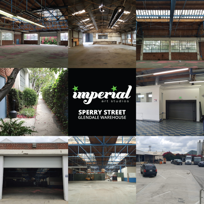 Imperial Art Studios New 33,900 Sq Ft Warehouse Complex in Glendale Area
