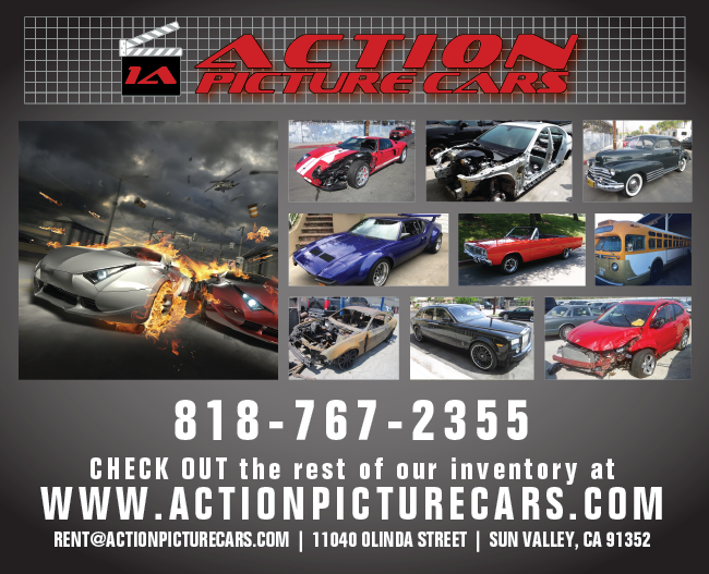 Action Picture Cars: Hundreds of Cars for Production!
