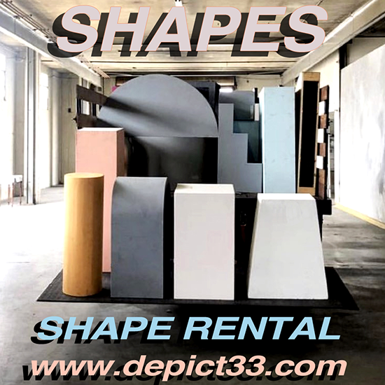 depict Has a Wide Variety of Paintable Shapes Available