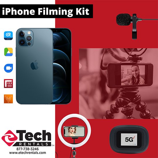 eTech Rentals Gets You Camera Ready