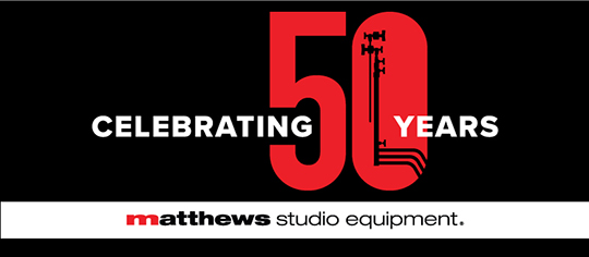 Matthews Studio Equipment is Celebrating 50 Years Serving the Entertainment Industry