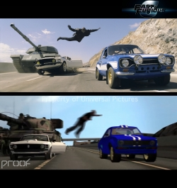 Proof Provides Previs, Postvis and Visual Effects for<i>Fast & Furious 6</i>