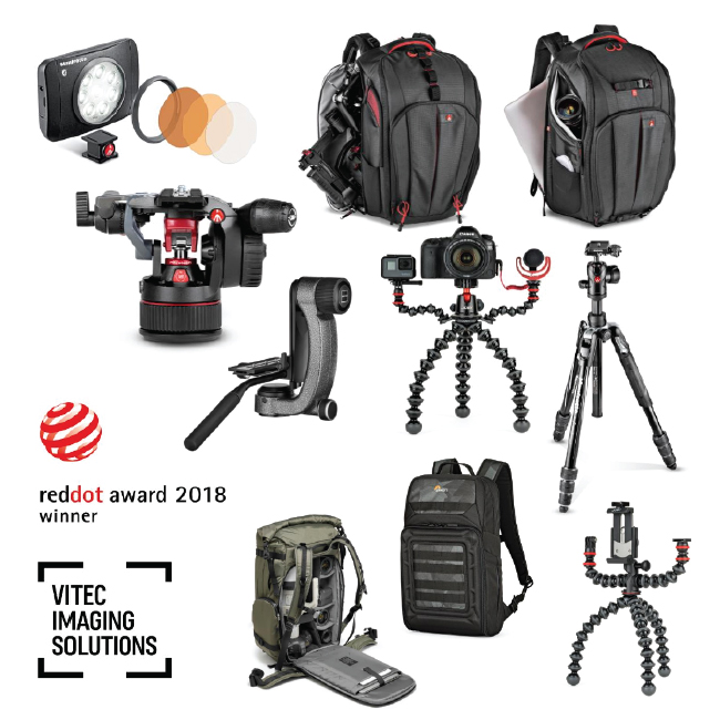 Vitec Imaging Solutions wins Nine Red Dot Design Awards 2018
