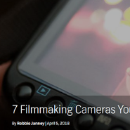 7 Filmmaking Cameras You Can Get for Under $1,000