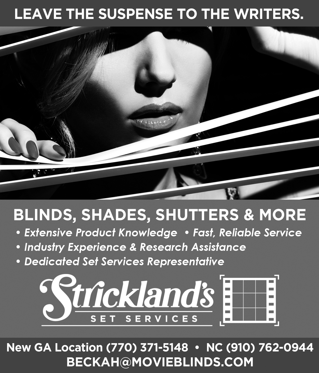 Get Paid $100 for Referrals to Strickland's Set Services.