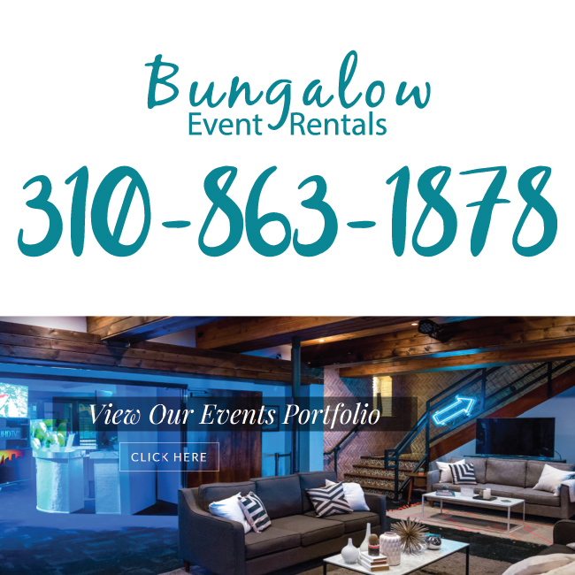 Bungalow Event Rentals is a Unique, Innovative Boutique Event Company